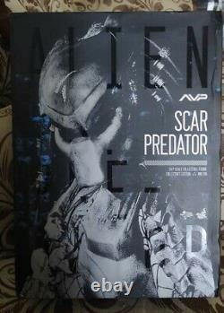 Hot Toys MMS 190 Alien VS Predator Scar Predator 2.0 Action Figure