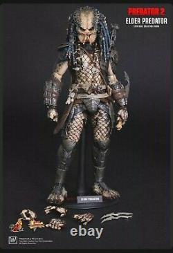 Hot Toys MMS 233 Alien vs. Predator Predators 2 AVP Elder Predator 14 inch