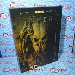 Hot Toys MMS 233 Alien vs. Predator Predators 2 AVP Elder Predator 14 inch USED
