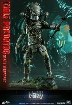 Hot Toys MMS443 Aliens vs. Predator Requiem Wolf Predator Heavy Weaponry