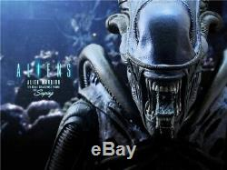 Hot Toys Mms354 Alien Warrior 1/6th Scale Collectible Figure New In Stock