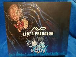 Hot Toys Sideshow AVP Alien Vs Predator MMS16 Elder Predator Model Kit New