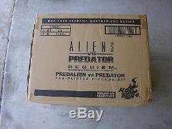 Hot Toys Sideshow Diorama Aliens vs Predator Requiem -Predalien Predator