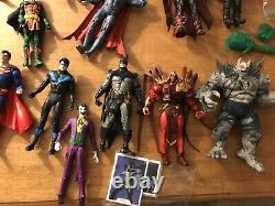 Huge Action Figure Lot Mcfarlane DC Multiverse, TNMT and More