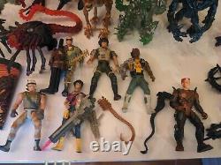 Huge Lot Of Vintage 90s Kenner Aliens Action Figures Queen marines etc HR Giger