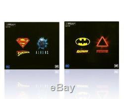 IN HAND SDCC 2019 BOTH NECA 2-PACKs BATMAN v PREDATOR & SUPERMAN v ALIEN