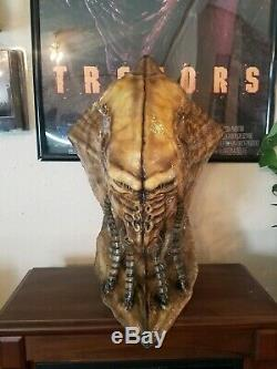 Id4 Independence day Life Size Bio Suit Alien Head Bust Prop