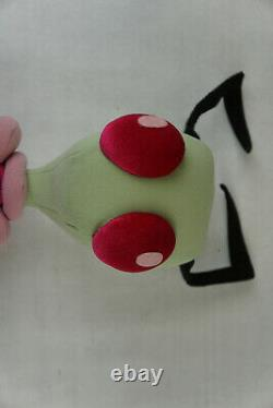 Invader Zim Plush 2002 Nickelodeon 13 Rare Viacom Alien Backpack 90s Pink Green