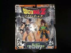 JAKKS PACIFIC Dragon Ball Z GT Alien Invaders 2 PACK VEGETA NAPPA NIB SEALED