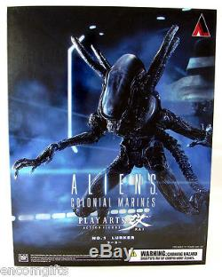 LURKER ALIEN No 1 Colonial Marines Action Figure Square Enix Play Arts Kai