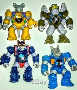 Laser beasts figures 8 Hasbro 1980's monster horror battle sci Fi alien werewolf