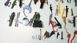 Lot of 23 Custom Painted Kenner Aliens Space Marines Action Figures Accessories