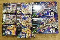 Lot of 8 Aliens Space Marine Vehicles MIB