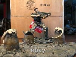 McFarlane Movie Maniacs Alien Queen Deluxe Set & Corp. Hicks (Used / Complete)