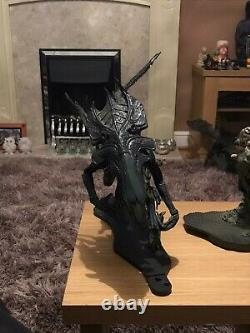 McFarlane Toys Queen Alien Figure previous repair on right arm