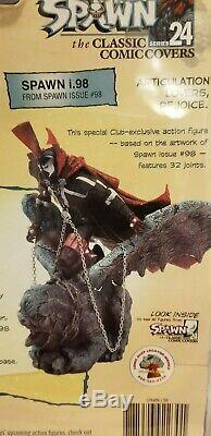 Mcfarlane Spawn I. 98 Figure Classic Comic Covers
