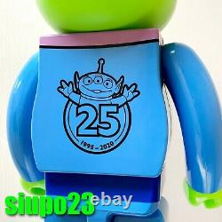 Medicom 1000% Bearbrick Disney Pixar Toy Story Be@rbrick Alien