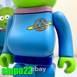 Medicom 400% + 100% Bearbrick Disney Pixar Toy Story Be@rbrick Alien