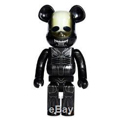 Medicom Alien 1000% Bearbrick Figure black