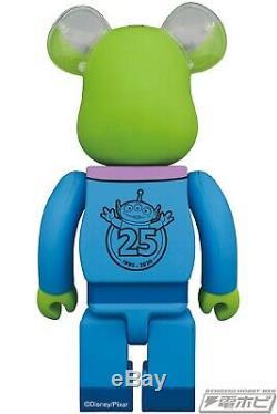 Medicom BE@RBRICK Alien 100% and 400% Toy story Disney Bearbrick Figure Set