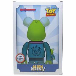 Medicom BE@RBRICK Disney Toy Story Alien 100% 400% Bearbrick Figure Set