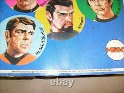 Mego 1974 Vintage Star Trek Dr. McCoy (Bones) figure 5 FACE CARD RARE SEALED