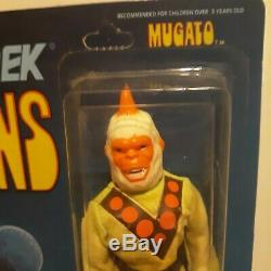 Mego Star Trek Aliens Mugato Action Figures In Package Card Not Punched 1976