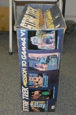Mego Star Trek Mission to Gamma VI Playset with extra aliens vintage in box