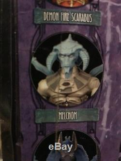 Melchom blue alien SCARABUS Mythic Legions Four Horsemen Gothitropolis figure