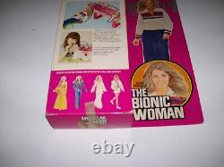 Mib 1st/ed Bionic Woman Jogging Suit Six Million Dollar Man Kenner 1975 Vintage