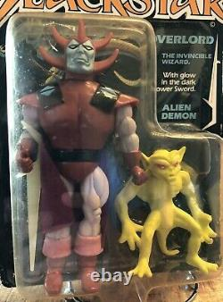 Moc 1983 Overlord Blackstar Galoob First Release Alien Demon Series 1