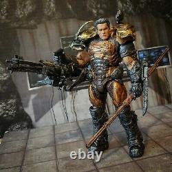 NECA ALIENS VS Predator DUTCH terminator tmnt custom marvel legends lot mezco