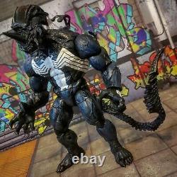 NECA ALIENS VS Predator VENOM XENOMORPH custom marvel legends lot mezco one12