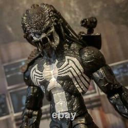 NECA ALIENS VS Predator VENOM YAUKTJA custom marvel legends / dc multiverse lot