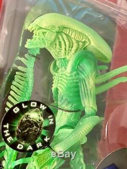 NECA AVP Aliens WARRIOR Xenomorph Glow In The Dark Lot New