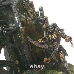 NECA AVP Battle Scene Diorama 2 types combination Alien Queen and Predator