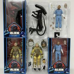 NECA Alien 40th Anniversary COLLECTION SET ASH KANE Alien Predator FIGURE NEW