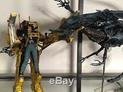 NECA Alien Queen Deluxe + Power Loader + Ellen Ripley (Complete with boxes)