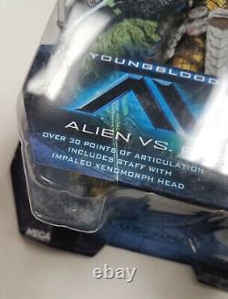NECA Alien vs Predator Series 17 AVP YOUNGBLOOD 7 Scale Action Figure 2017
