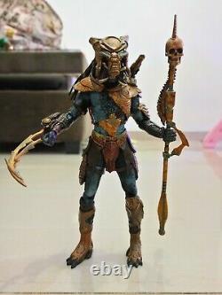 NECA Alien vs Predator Youngblood Predator Custom Cyborg Arm + Nightsorm Lot Of2