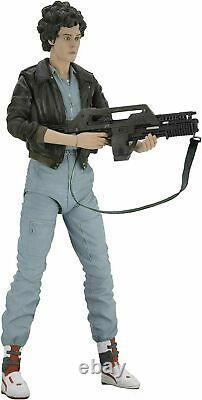 NECA Aliens 7 Lt. Ellen Ripley (Bomber Jacket) Action Figure NEW SEALED