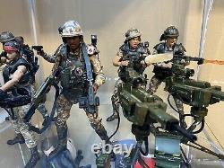 NECA Aliens Lot of 7 Colonial Marines And Custom Apone W Accessories Pack
