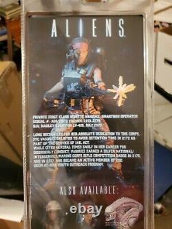 NECA Aliens PRIVATE JENETTE VASQUEZ 7 110 Series 9 New In Box