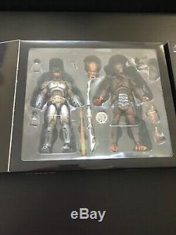 NECA DC Armored Batman vs Predator AND Superman vs Aliens SDCC 2019