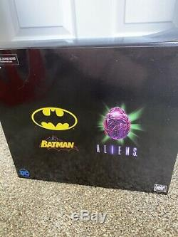NECA DC Batman vs Aliens Lantern NYCC SDCC Superman vs Figure 3 Set