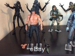 NECA Figure Lot Alien, Predator, Nightmare, Rambo, Robocop, Terminator 2