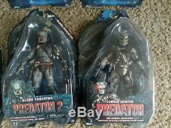 NECA Lot Predator Series 2 3 8 17 Elder Dutch Classic Hunter Aliens Xenomorph S1