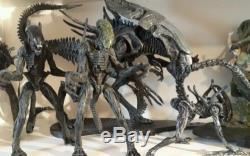 NECA McFarlane Aliens lot ALIEN QUEEN Custom Newt Ripley Xenomorph Warrior Grid