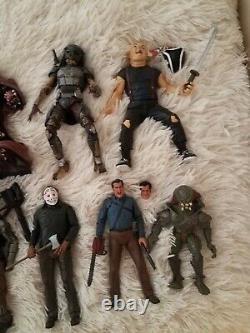 NECA McFarlane Horror Loose Lot Movie Maniacs Leatherface Jason Predator Alien
