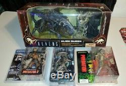 NECA Mcfarlane lot Predator AVP Alien queen Xenomorph rare vintage new aliens